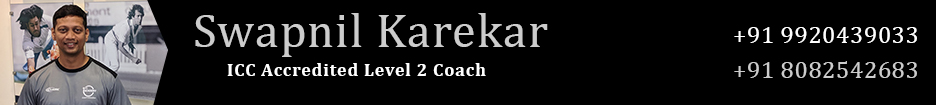 Swapnil Karekar Cricket Coach