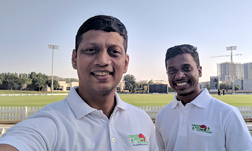Cricket Consultant and Coach Swapnil Karekar